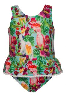 Snapper Rock - Skirt Swimsuit - Tropical birds - 0