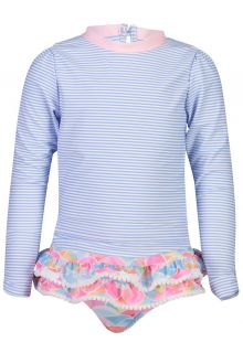 Snapper Rock - UV Swim set for girls - Rainbow Connection - Multi - Front