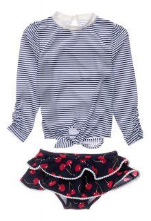 Snapper-Rock---UV-Swim-set-for-baby-girls---Longsleeve---Ma-Cheri---Blue/White