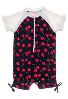 Snapper-Rock---UV-Swim-suit-for-baby-girls---Short-sleeve---Ma-Cheri---Navyblue