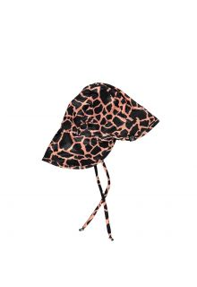 Beach-&-Bandits---UV-Sun-hat-for-kids---Spotted-Moray---Black