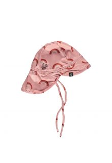 Beach-&-Bandits---UV-Sun-hat-for-kids---Pink-Rainbow---Retro-Pink
