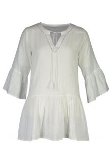 Snapper Rock - Organic Cotton Kaftan for women - White - Front