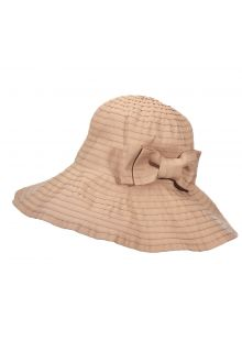 UV oprolbare hat for women from Scala - Desert - 0