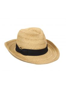 Braided hat for ladies from Scala - Natural - 0