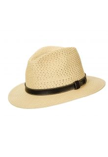 Scala---UV-safari-braided-hat-for-men---Natural
