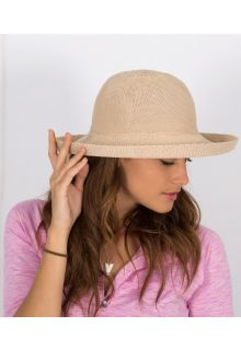 Rigon---UV-sun-hat-for-women---Suede-beige