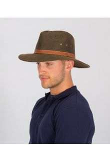 Rigon---UV-fedora-hat-for-men---Oliver---Vintage-brown