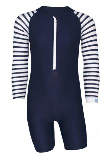 JUJA---UV-Swim-suit-for-babies---longsleeve---Stripy---Darkblue