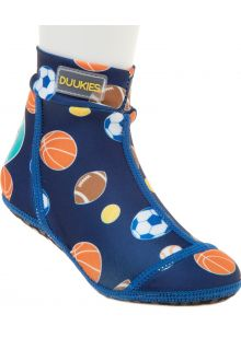 Duukies---Boys-UV-Beach-Socks---Sportsball-Blue---Blue