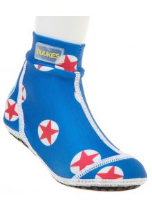 Duukies---Boys-UV-Beach-Socks---Star-Red---Blue-