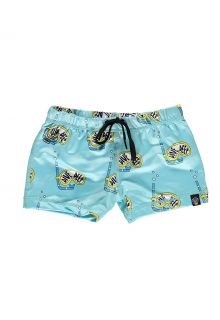 Beach-&-Bandits---UV-Swim-shorts-for-kids---Dive-Deep---Blue