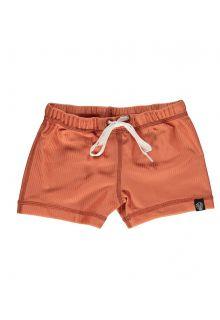 Beach-&-Bandits---UV-Swim-shorts-for-kids---Ribbed---Clay