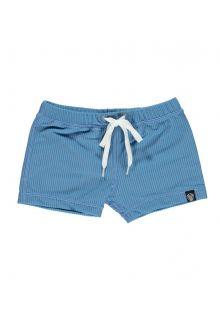 Beach-&-Bandits---UV-Swim-shorts-for-kids---Ribbed---Reef-blue