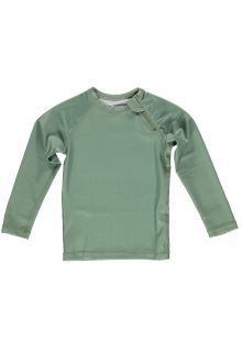 Beach-&-Bandits---UV-Swim-shirt-for-kids---Ribbed-Longsleeve---Basil