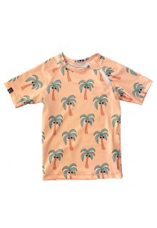Beach-&-Bandits---UV-Swim-shirt-for-kids---Palm-Breeze---Sunny-Cream