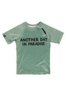 Beach-&-Bandits---UV-Swim-shirt-for-kids---Paradise---Green