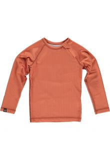 Beach-&-Bandits---UV-Swim-shirt-for-kids---Ribbed-Longsleeve---Clay