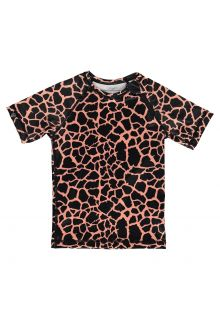 Beach-&-Bandits---UV-Swim-shirt-for-kids---Spotted-Moray---Black