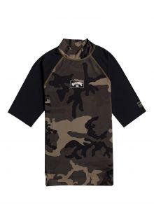 Billabong---UV-Rashguard-for-men---Short-sleeve---Contrast---Camo