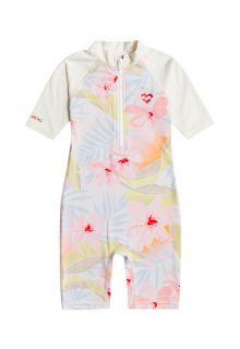 Billabong---UV-Swim-suit-for-girls---Short-sleeve---Billie-Logo---Multi