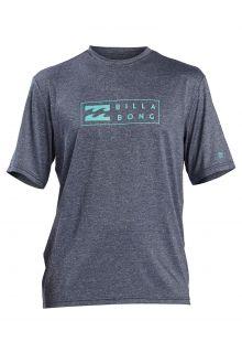 Billabong---UV-Rashguard-for-men---Short-sleeve---Unity---Navy-heather