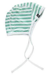 Beach & Bandits - Boys' UV hat - Beach Boy - White/Green - Front