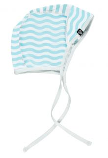 Beach-&-Bandits---Babies'-UV-hat---Ocean-Child---White/Blue