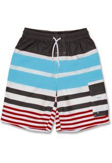 Snapper-Rock---Boardshort---Slate/-Aqua/-Red-stripe