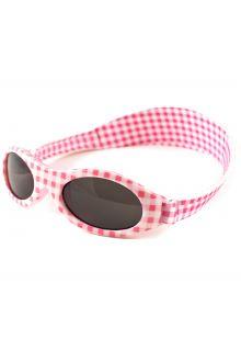Banz---UV-Protective-Sunglasses-for-kids---Bubzee---Pink-Checkers