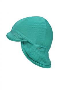 Beach-&-Bandits---UV-Sun-hat-for-babies---Ribbed-Collection---Lagune