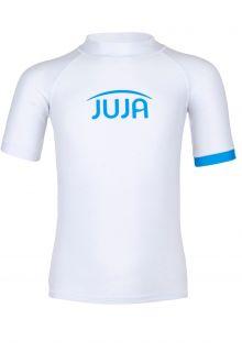 JUJA---UV-Swim-shirt-for-kids---short-sleeves---Solid---White