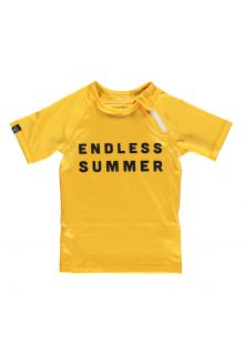 Beach-&-Bandits---UV-Swim-shirt-for-kids---Endless-Summer---Yellow