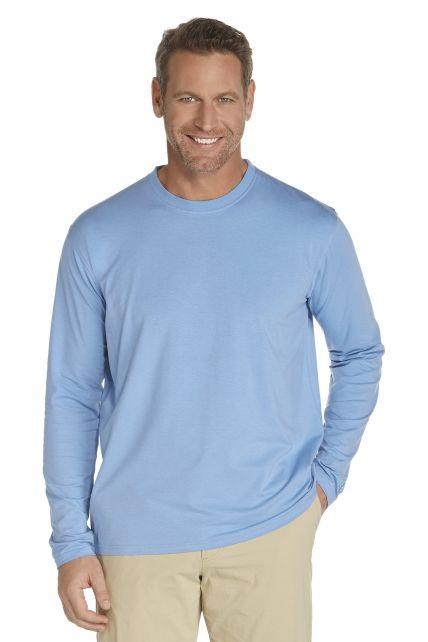 UV UV Long-Sleeve T-Shirt - Light blue - Front