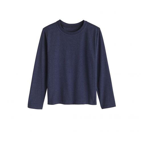 Coolibar - UV shirt for children longsleeve - Midnight blue - Front