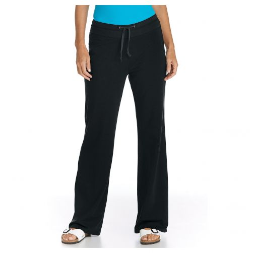 Coolibar - UV Beach UV Pants - Black - Front