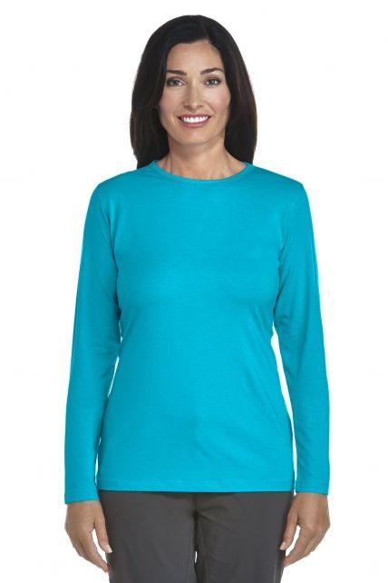 UV Long-Sleeve T-Shirt - azure - Front