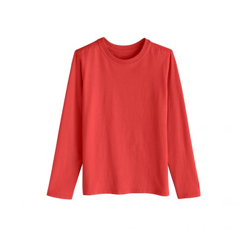 Coolibar - UV shirt for kids - red - Front