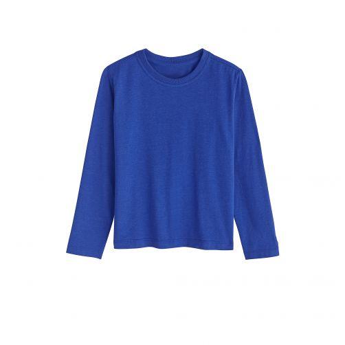 Coolibar - UV shirt for children longsleeve - Sailor blue - Front