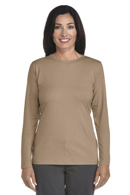 UV Long-Sleeve T-Shirt - kaki - Front
