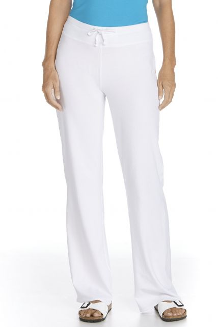 Coolibar---UV-Beach-Pants---white