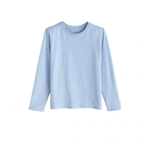 Coolibar - UV shirt for children longsleeve - Vintage blue - Front