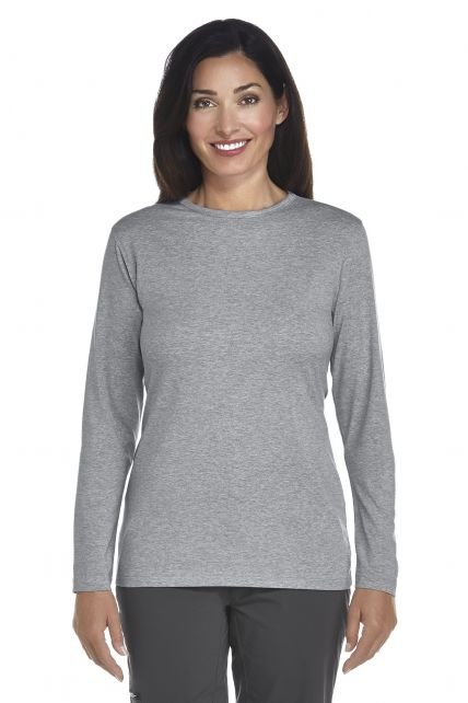 UV Long-Sleeve T-Shirt - grey - Front