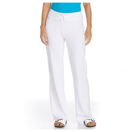 Coolibar - UV Beach UV Pants - White - Front