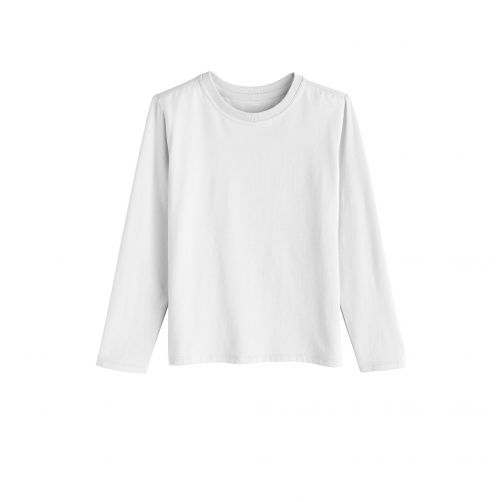 Coolibar - UV shirt for children longsleeve - White - Front