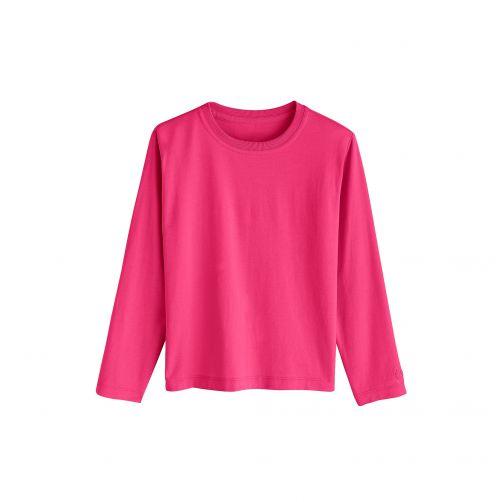 Coolibar - UV shirt for kids - magenta (purple/red) - Front