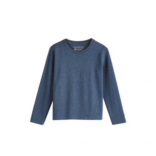 Coolibar - UV shirt for kids - blue - Front