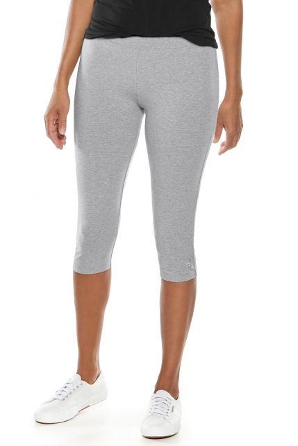 Coolibar---UV-capris-for-ladies---grey