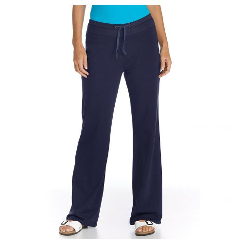 Coolibar - UV Beach UV Pants - Navy - Front