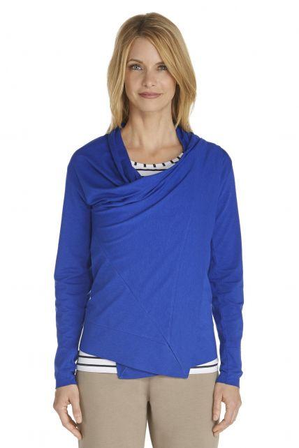 Coolibar---UV-Sun-Wrap---cobalt-blue